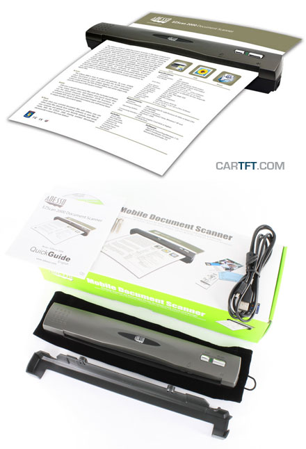 Adesso EZScan 2000 (Mobile Document Scanner, USB)