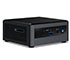 "Intel NUC10i7FNHJA (Intel Core i7-10710U up to 4,70GHz,  1x HDMI, 5x USB 3.1, 8GB RAM, <b>1TB 2,5"" SATA HDD, Win10 Home</b>"