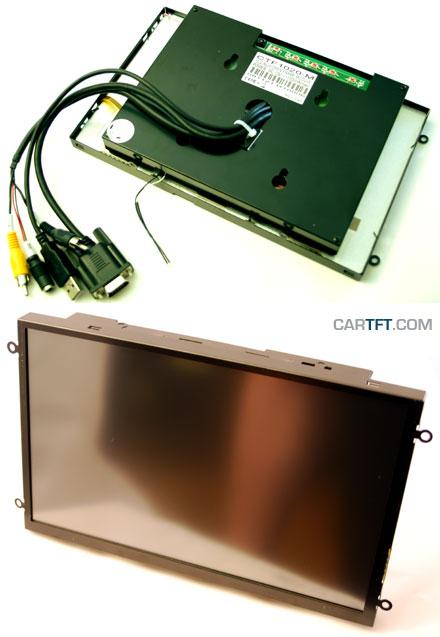 "CTF1020<b>-ML</b> - VGA 10.2"" TFT - Touchscreen USB - Video - <b>OPEN-FRAME (LED Backlight)</b>"