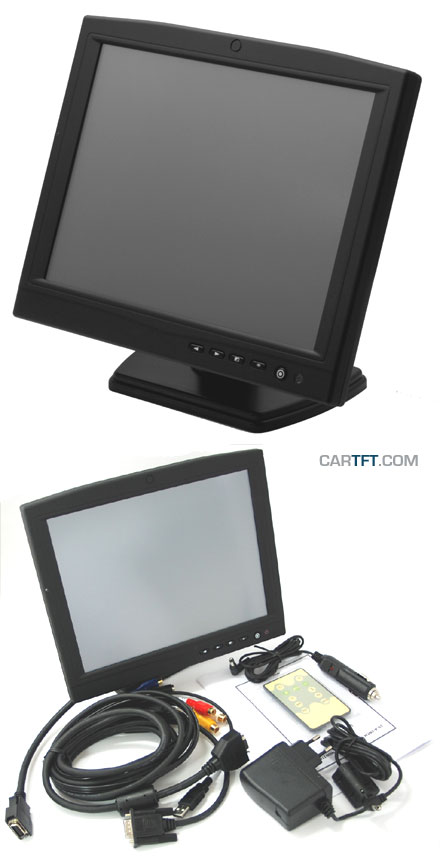 "CTF1040-<b>X</b> - VGA 10.4"" TFT - Touchscreen USB - Video - Autodimmer -  Audio [1024x768, Contrast 1200:1]"