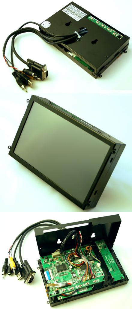 """CTF700-<b>HM</b> - VGA 7"""" TFT - Touchscreen USB - <b>OPEN-FRAME</b> (<b>800nits , TMR-Technology</b>)"""