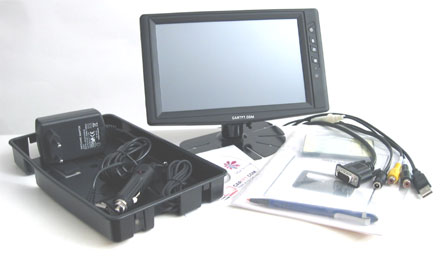 "CTF800<b>-SL</b> - VGA 8"" TFT - Touchscreen USB - PAL/NTSC - Autodimmer - IR Remote - Audio <b>(500 nits) [LED-Backlight] -TRANSFLECTIVE PRO-</b>"