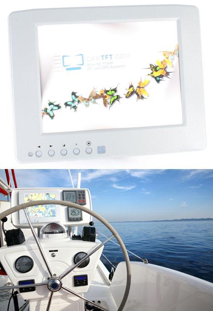 "CTF846-<b>SLWP</b> - VGA 8.4"" TFT - Touchscreen USB - Video (<b>600 nits</b>) <b>-TRANSFLECTIVE PRO- [WATERPROOF, IP67]</b>"