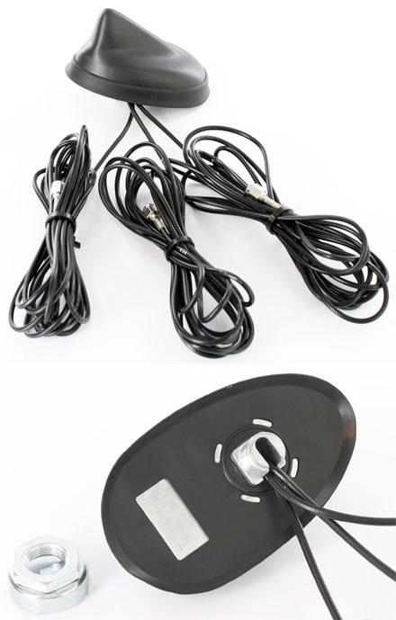 CTFANT-TRIPLE (Fahrzeug-Dachantenne, GPS/GSM/UMTS/WLAN/BT)
