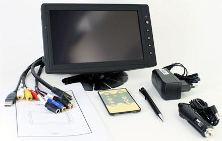 "CTFHD800 - HDMI 8"" TFT - Touchscreen USB - PAL/NTSC - Autodimmer - IR Remote - Audio  <b>(1024x600, 500 nits) [LED]</b>"