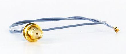Pigtail cable UFL U.FL SMA female (30cm, for Mini-PCI WLAN,3G,GPS)