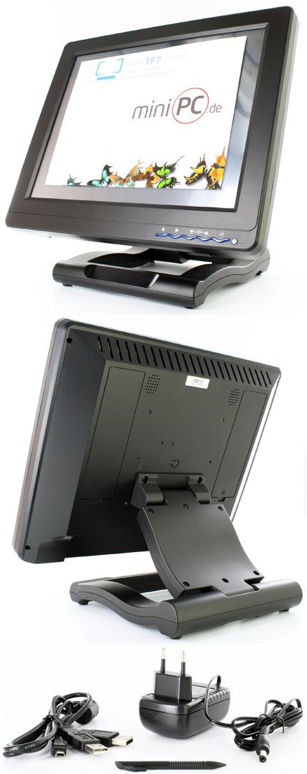 "CVL1210-USB (12.1"" USB Touchscreen Display)"
