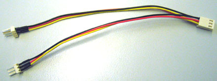 Fan-Splittercable 1-on-2