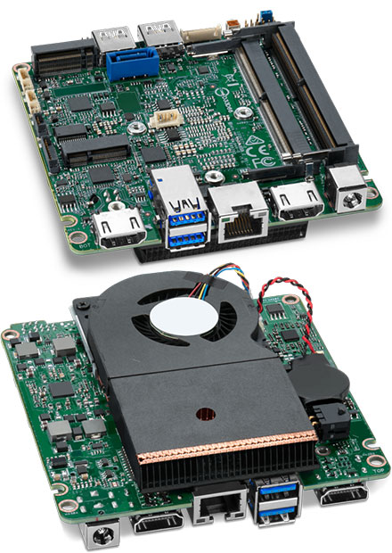 Intel NUC NUC7i7DNBE Mainboard (Intel Core i7-8650U)