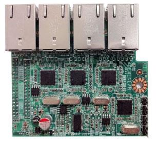 Jetway ADD-ON ADE4INLANG (4x GigaLAN, Intel) [Gen2]