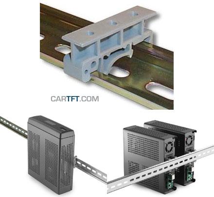 DIN-Rail adapter  f. M350 enclosure