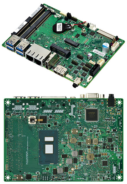 Mitac PD11KS 3.5-SBC (Intel Kaby Lake, i5-7300U, HDMI+dP)