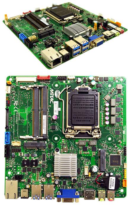 Mitac PH11SI Thin-ITX (Intel H110, LGA1151 Skylake) [Mini-PCIe, 19V]