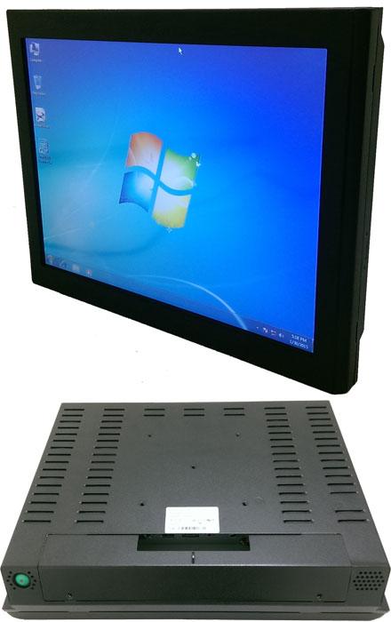 "Mitac D150-LR 15"" Panel PC (1024x768, Touchscreen, PH12LI Thin-ITX Q87 Haswell, IP64 Front, Fanless)"