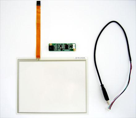 "TOUCHSCREEN-KIT USB 8"" (4:3)"