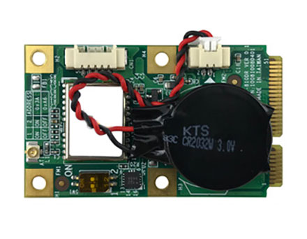 VDB-810DR Mini-PCIe GPS (u-blox M8 GPS/QZSS+GLONASS+BeiDou, G-Sensor, Untethered Dead Reckoning)